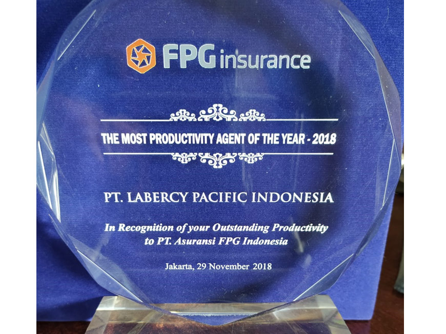 FPG Most Productive Agent 2018